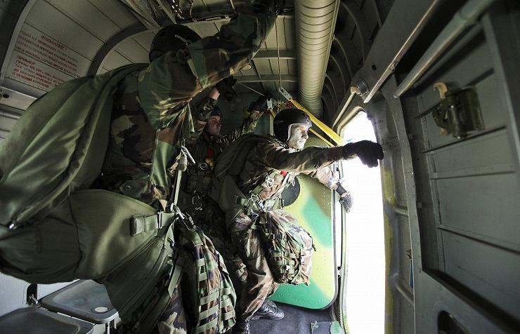 Moldova's servicemen participating in military drills