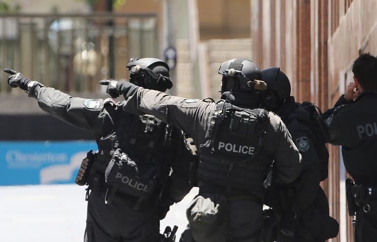 Police operation in Sydney, Australia