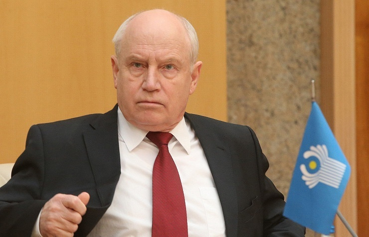 Chairman of the CIS Executive Committee Sergey Lebedev