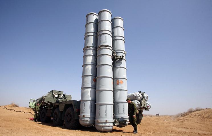 S-300 missile system