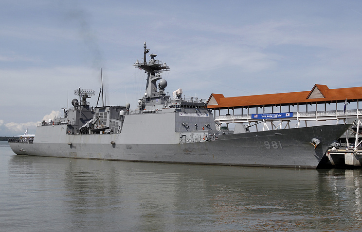 the ROKS Choe Yeong destroyer (archive)