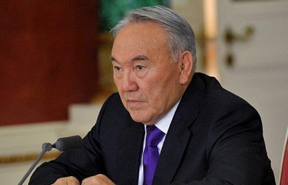 Kazakhstan's President Nursultan Nazarebayev