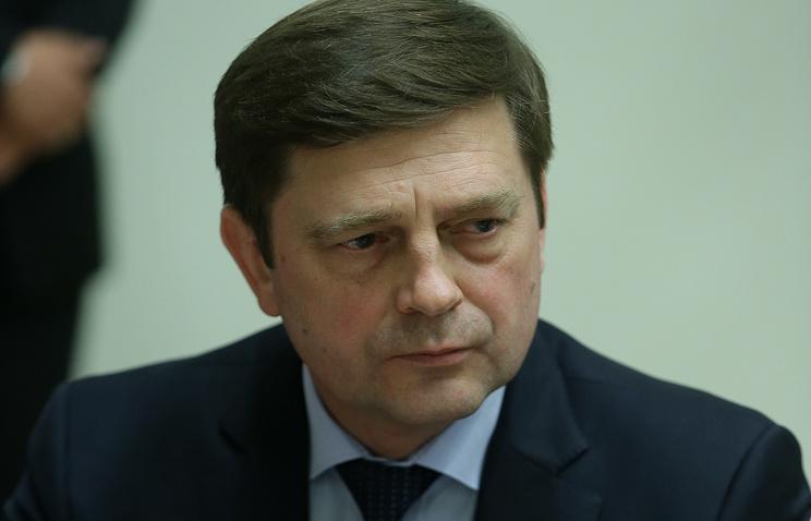 Head of Russian Federal Space Agency (Roscosmos) Oleg Ostapenko