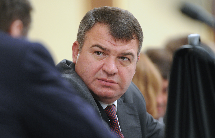 Russian Defense Minister Anatoly Serdyukov