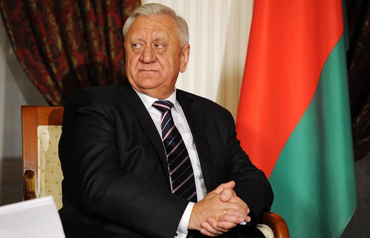Former Belarusian Prime Minister Mikhail Myasnikovich