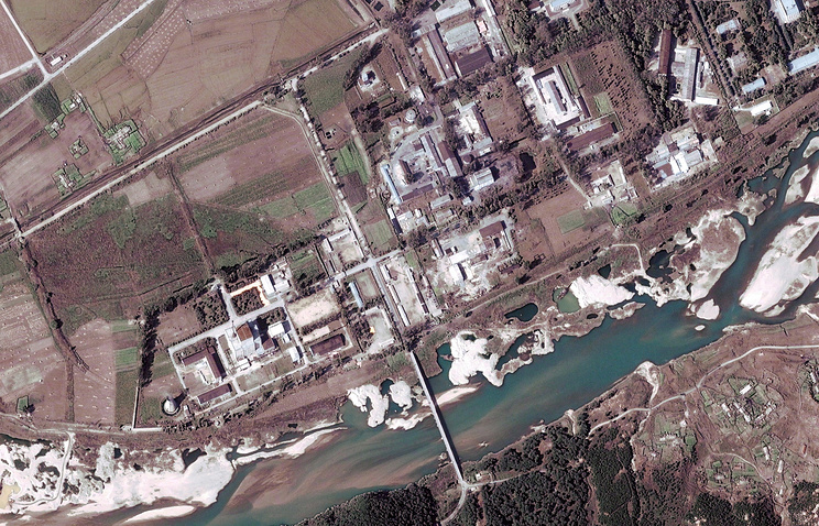 Yongbyon nuclear facility in Yongbyon, North Korea