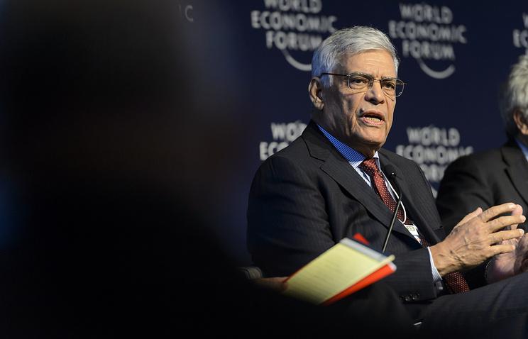 Head of OPEC Adballa Salem El Badri