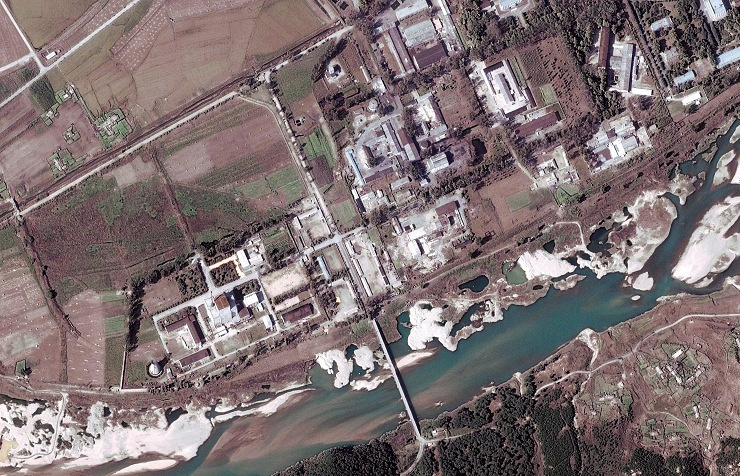 A nuclear facility in North Korea