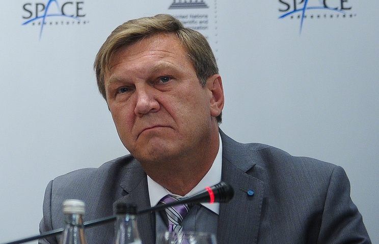 Head of the department for manned programs in Roscosmos Alexey Krasnov