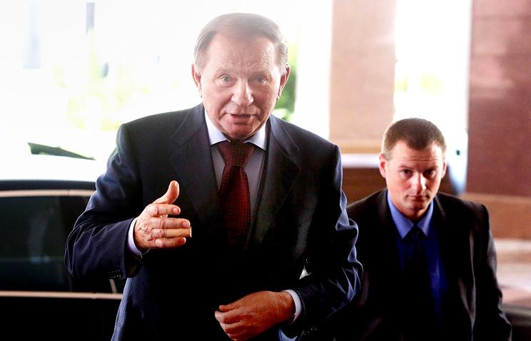 Ukraine ex-president Leonid Kuchma