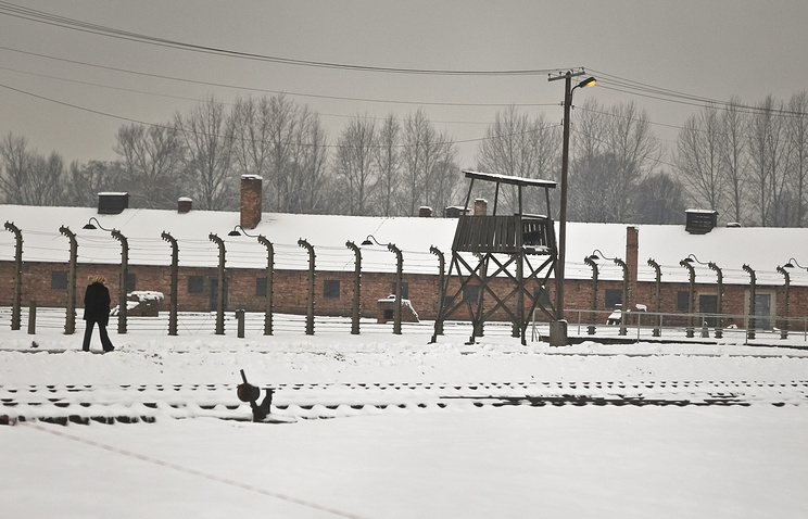 Auschwitz-Birkenau Nazi concentration camp