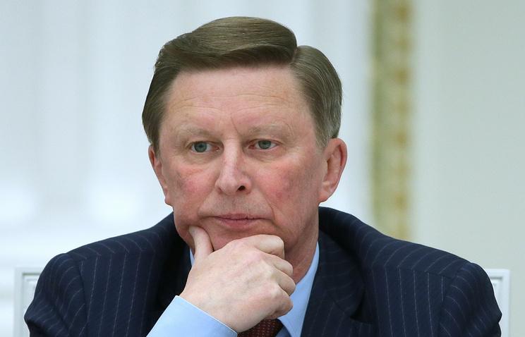 Kremlin chief of staff Sergey Ivanov