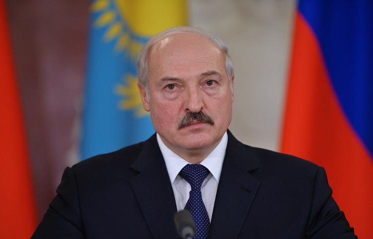 Belarusian leader Alexander Lukashenko