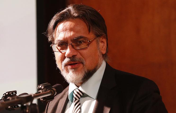 Luhansk republic's negotiator Vladislav Deinego