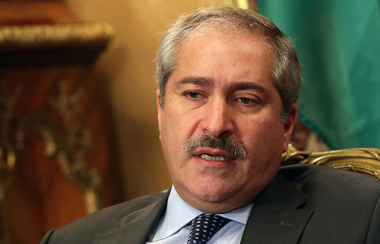 Jordanian Minister of Foreign Affairs and Expatriates Nasser Judeh