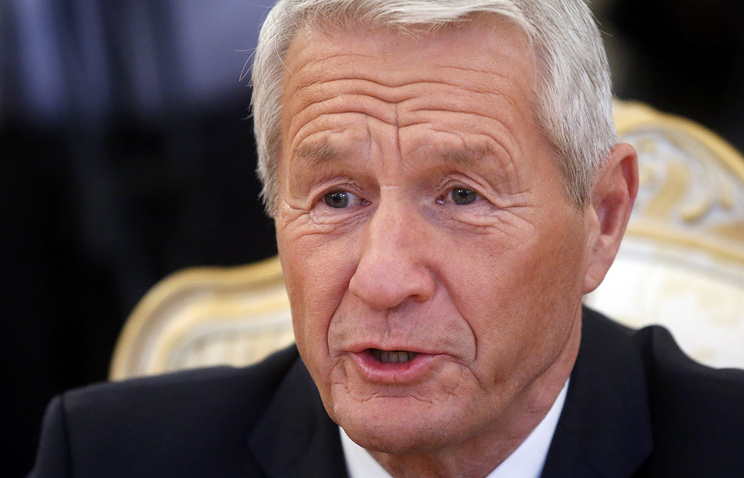 Council of Europe Secretary General Thorbjorn Jagland