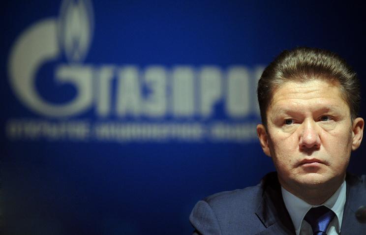 Gazprom head Alexey Miller