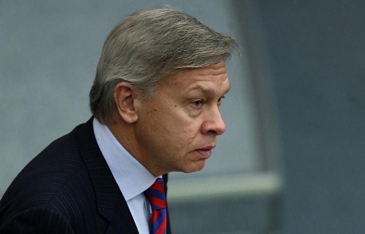 Head of the State Duma's international affairs committee Alexei Pushkov