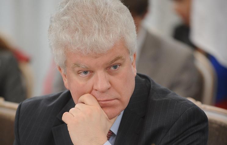 Russia's EU envoy Vladimir Chizhov