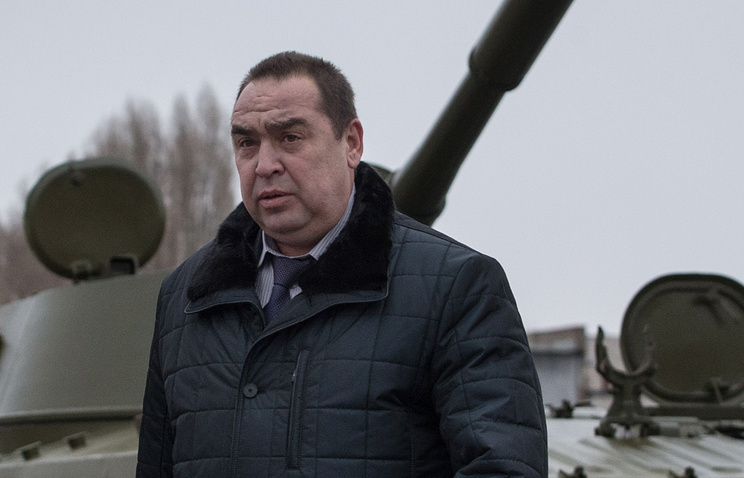 Head of self-proclaimed Luhansk republic Igor Plotnitsky