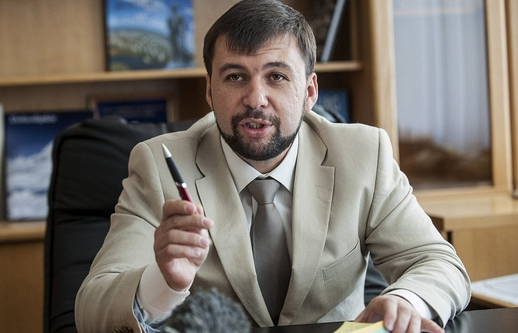 DPR's representative in the Contact Group on Ukrainian settlement Denis Pushilin