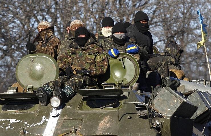 Ukraine military in Artyomovsk
