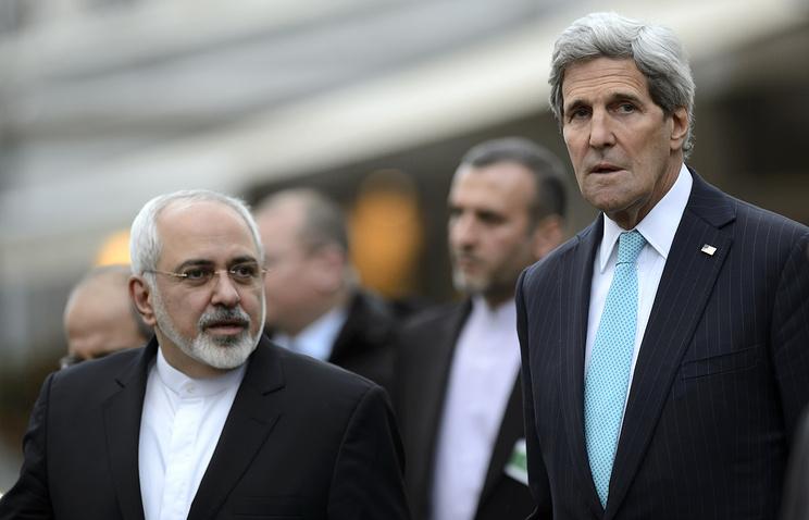 Javad Zarif, John Kerry