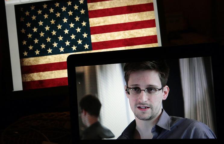 Former CIA contractor Edward Snowden