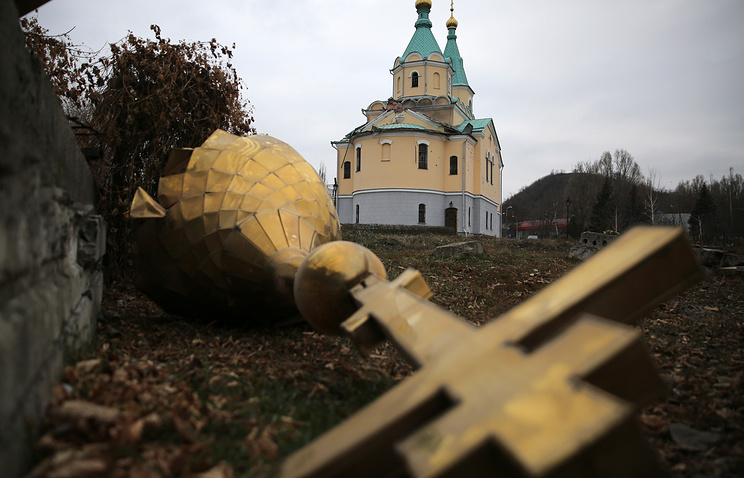 A church in eastern Ukraine (archive)