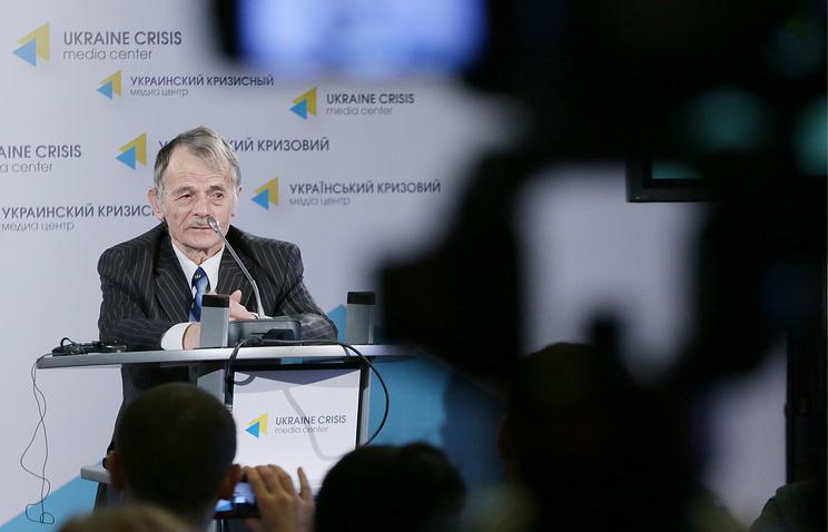 Mustafa Dzhemilev, former leader of Crimean Tatar Mejlis (the body representing Crimea's Muslim minority, Crimean Tatars)