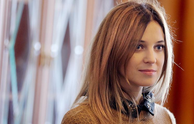 Crimea's chief prosecutor Natalia Poklonskaya