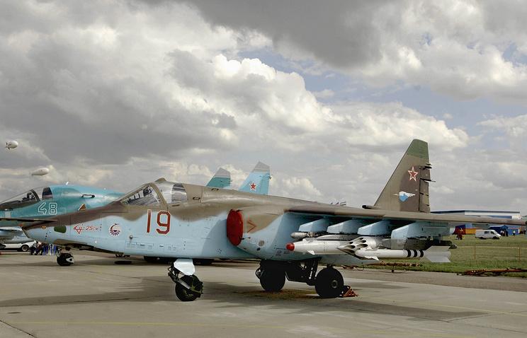 Sukoi Su-25SM aircraft (archive)