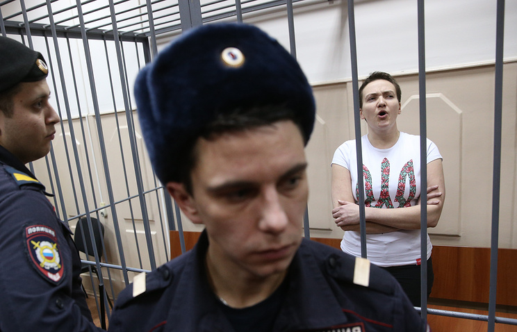 Nadezhda Savchenko in detention
