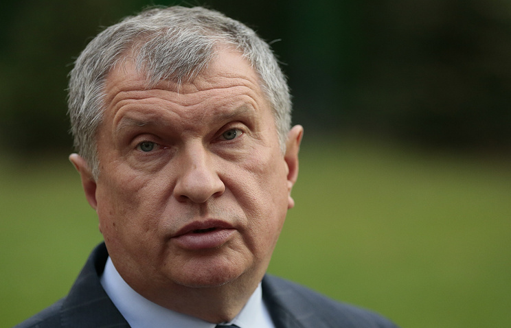 Rosneft` head Igor Sechin