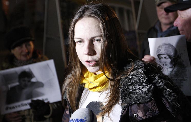 Vera Savchenko, sister of Nadezhda Savchenko