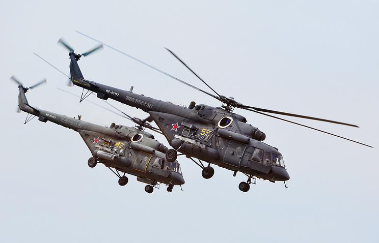 Mi-8AMTSH helicopters
