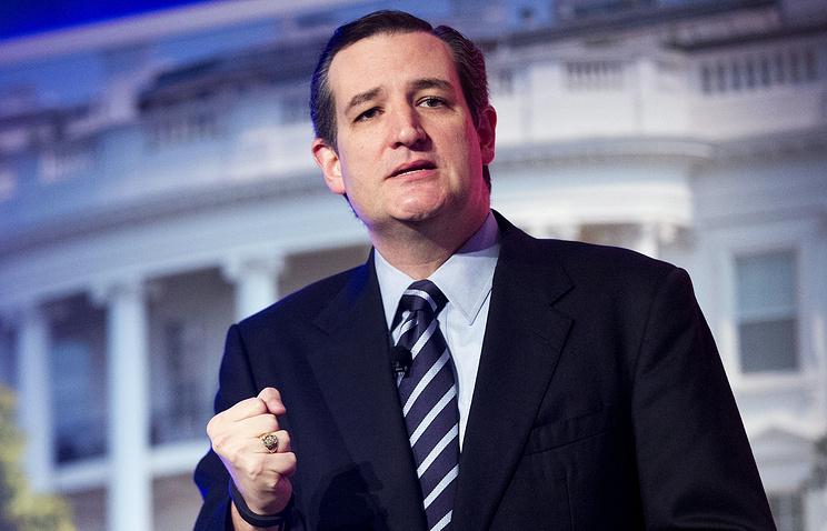 US Senator Ted Cruz