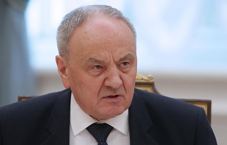 Moldovian President Nikolay Timofti