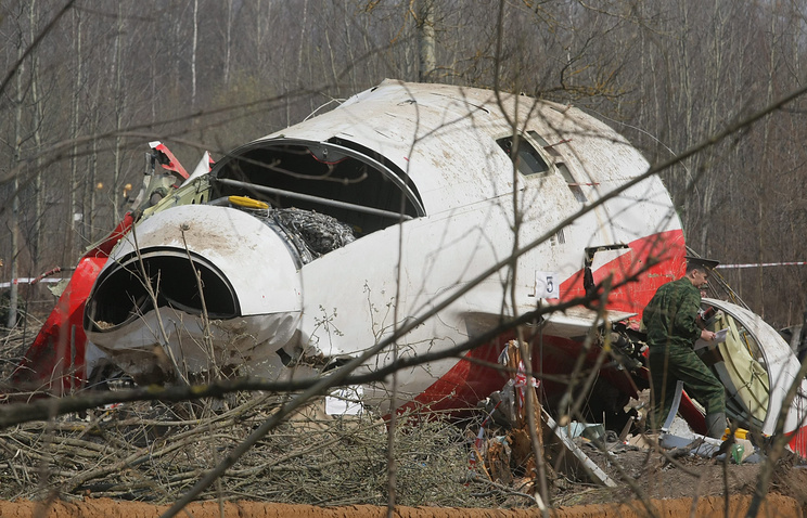 Site of Polish president Lech Kaczynski plane crash (archive)
