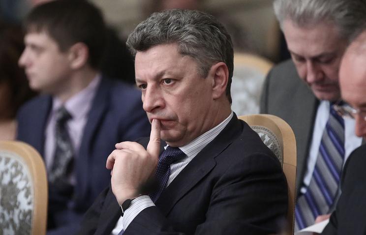 Chairman of the Opposition Bloc faction in Verkhovna Rada Yuriy Boyko