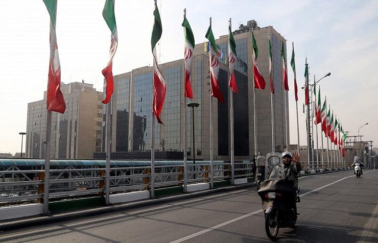 A street in Tehran, Iran