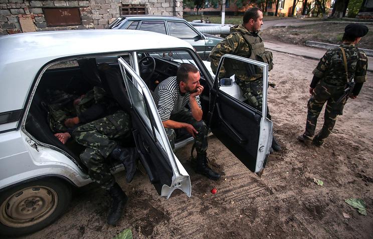 Aidar fighters seen in the Luhansk Region (archive)