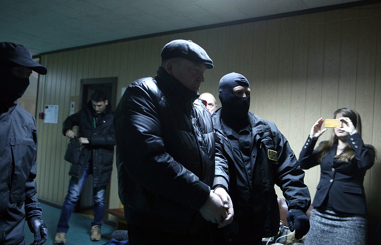 Alexander Reimer escorted to court