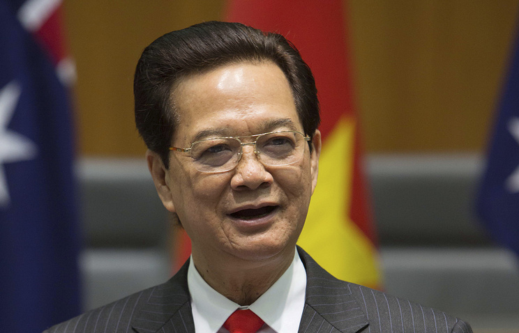 Vietnamese Prime Minister Nguyen Tan Dung
