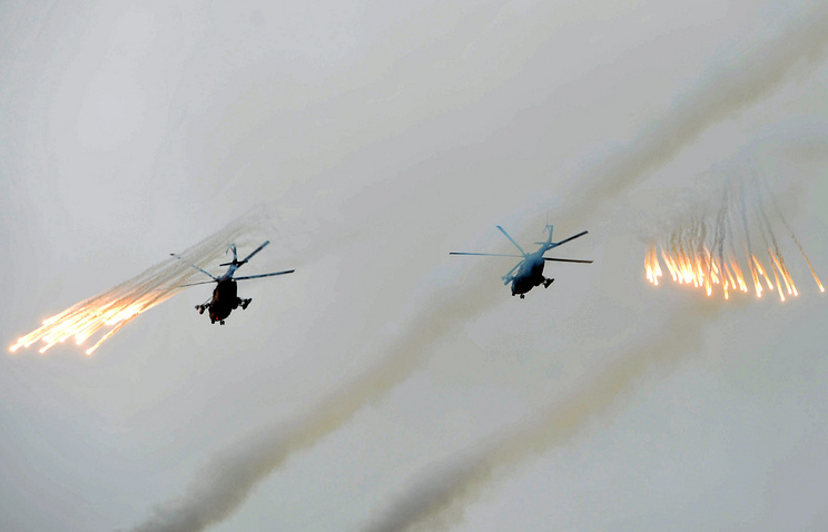 Military drills on Sakhalin, July 2013 (archive)