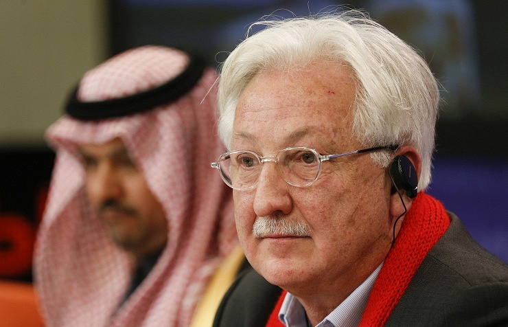 Representative of the Democratic Tribune of Syria movement Samir Aita