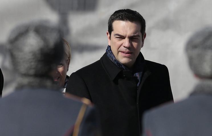 Greek Prime Minister Alexis Tsipras