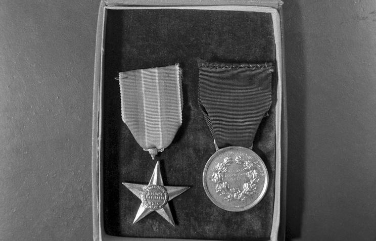 Fyodor Poletayev's medals (archive)