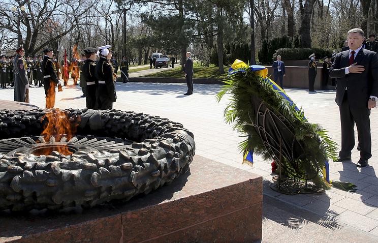 Petro Poroshenko in Odessa