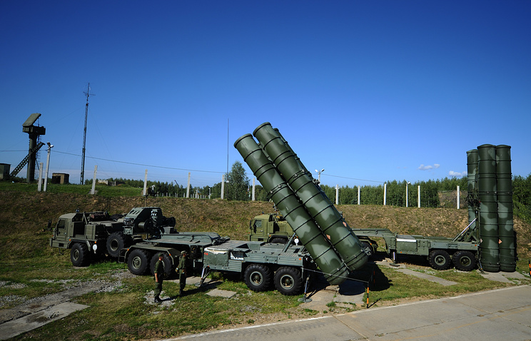 S-400 air defense systems (archive)